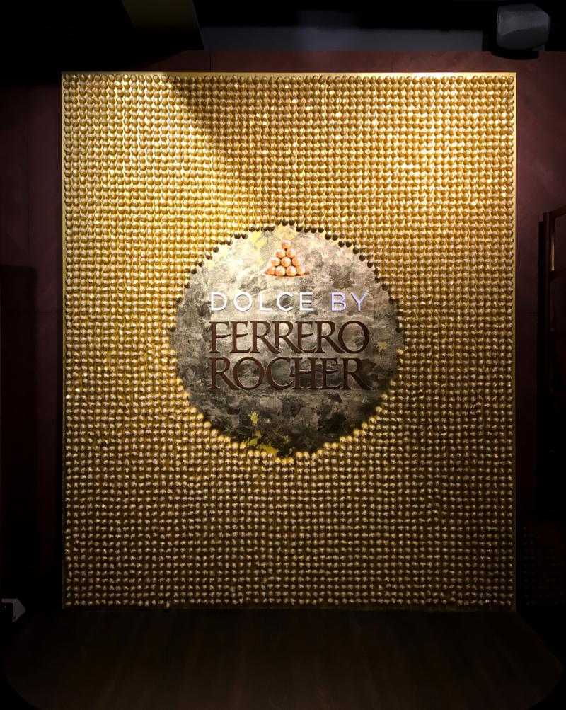 Dolce By Ferrero Rocher Wall