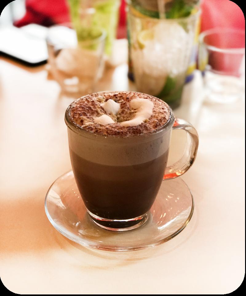 Hot chocolate Comptoir Libanais