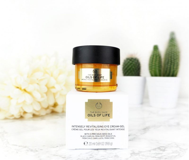 The Body Shop Oils Of Life Eye Cream Review