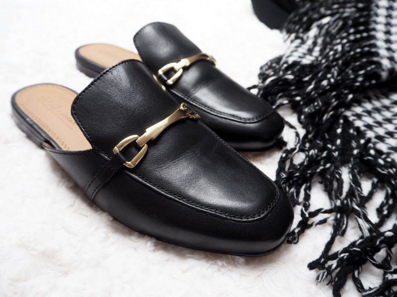 Asos loafer mules