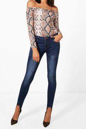 Sonia Super Skinny Stirrup Jeans