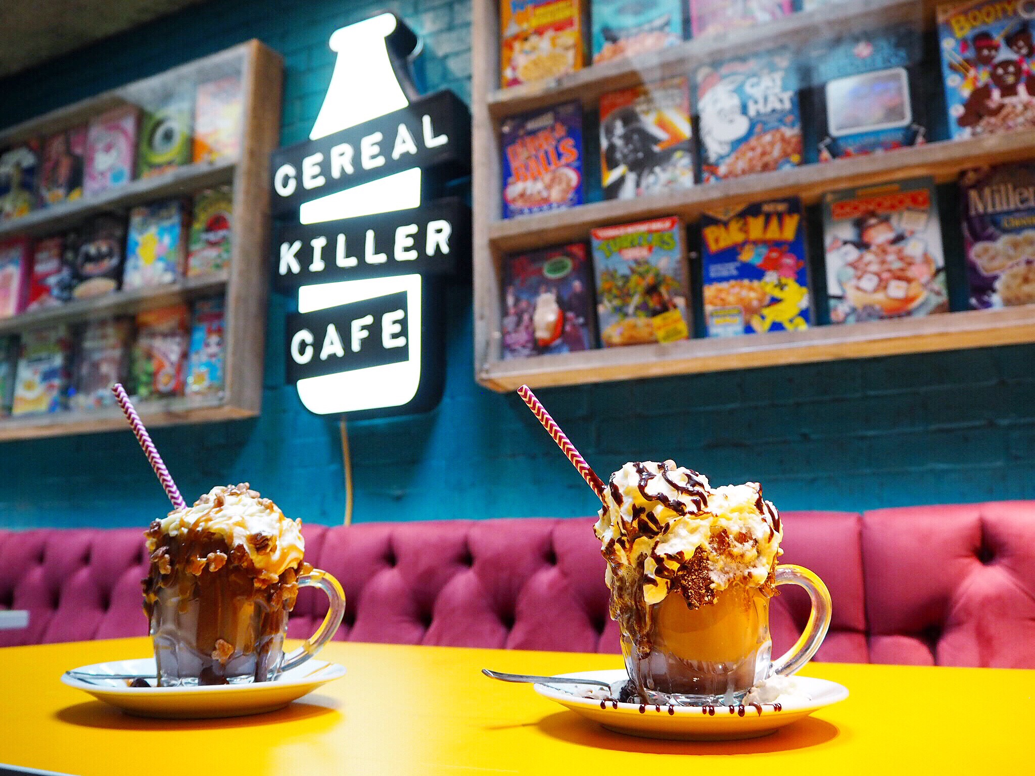 Cereal Killer Cafe Stacked Hot Chocolate