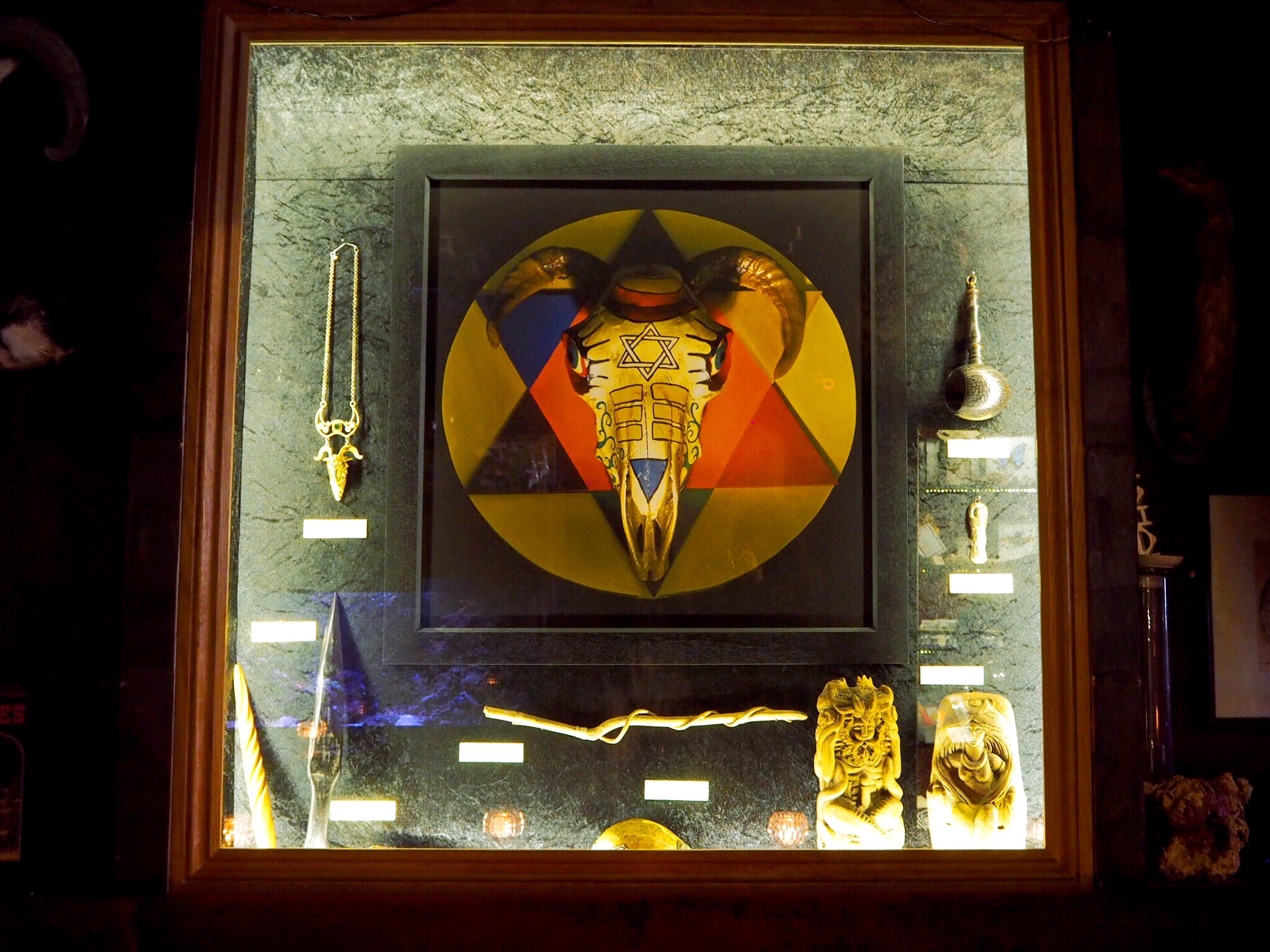 vThe Museum of Witchcraft and Magic London
