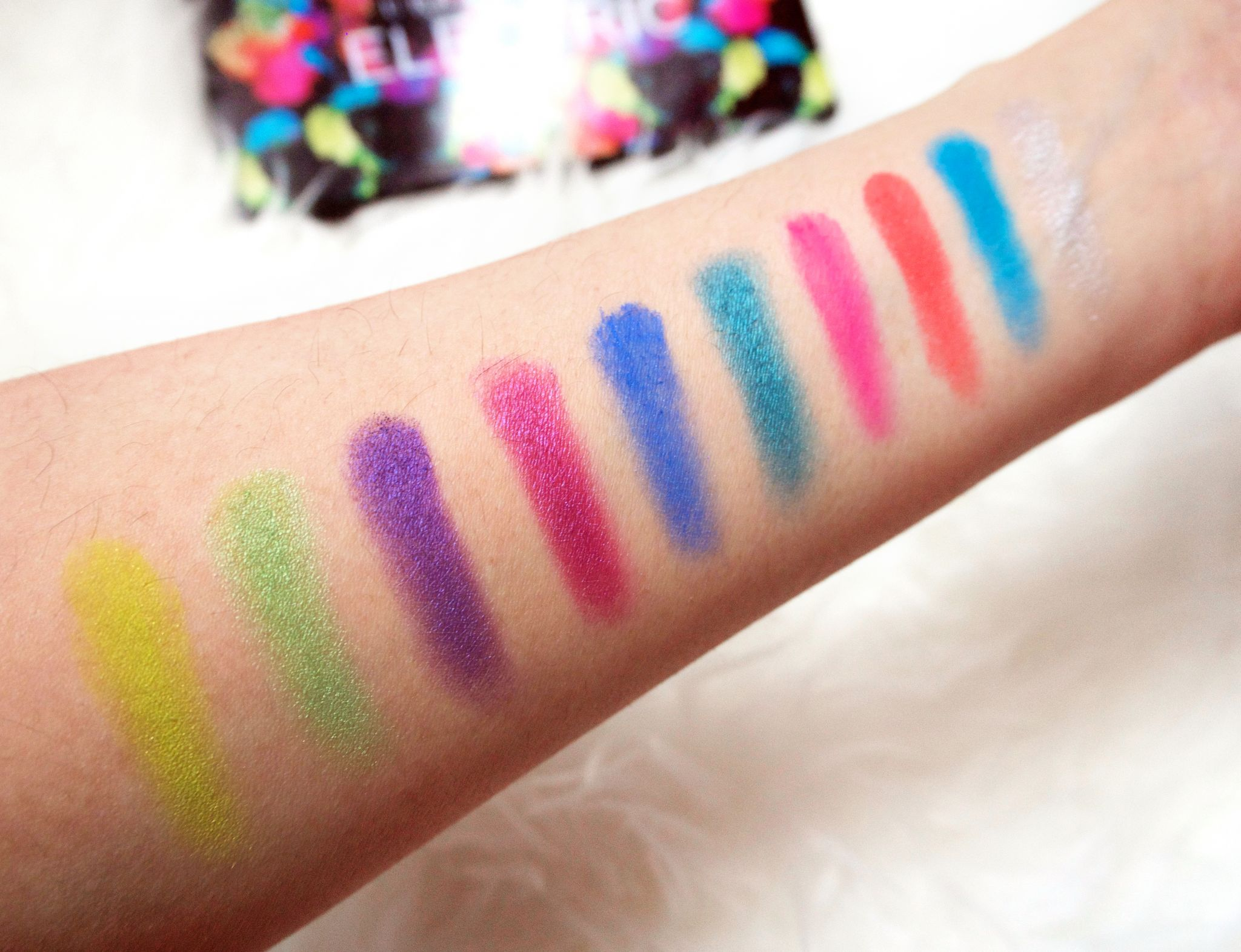 Urban Decay Electric Palette swatch