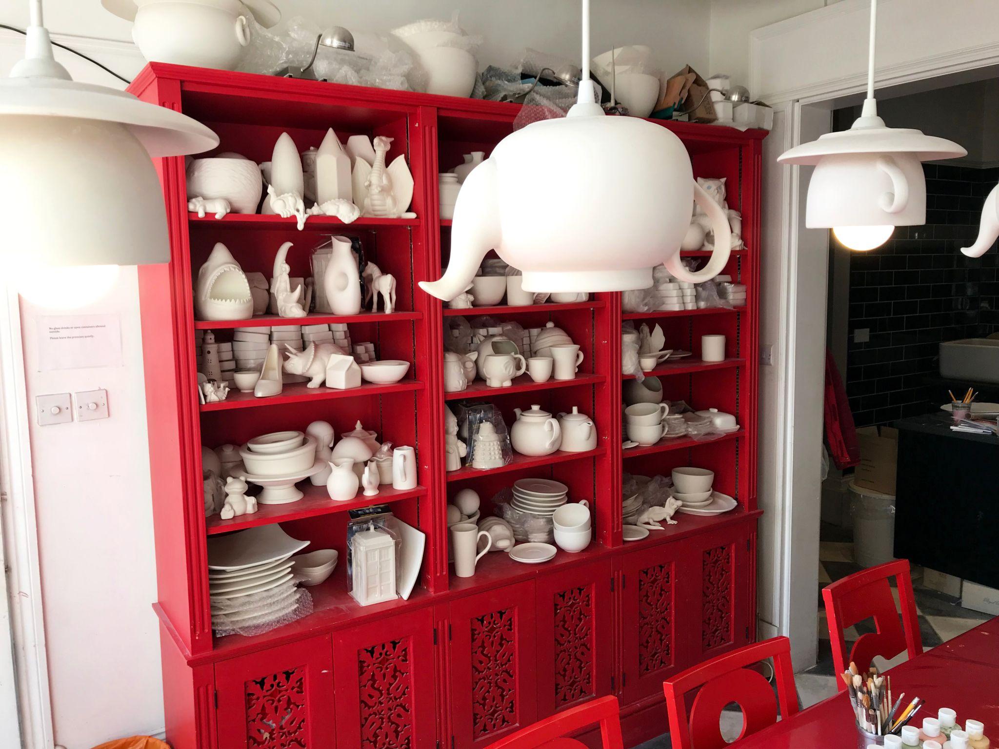 Wonderland Ceramics cafe