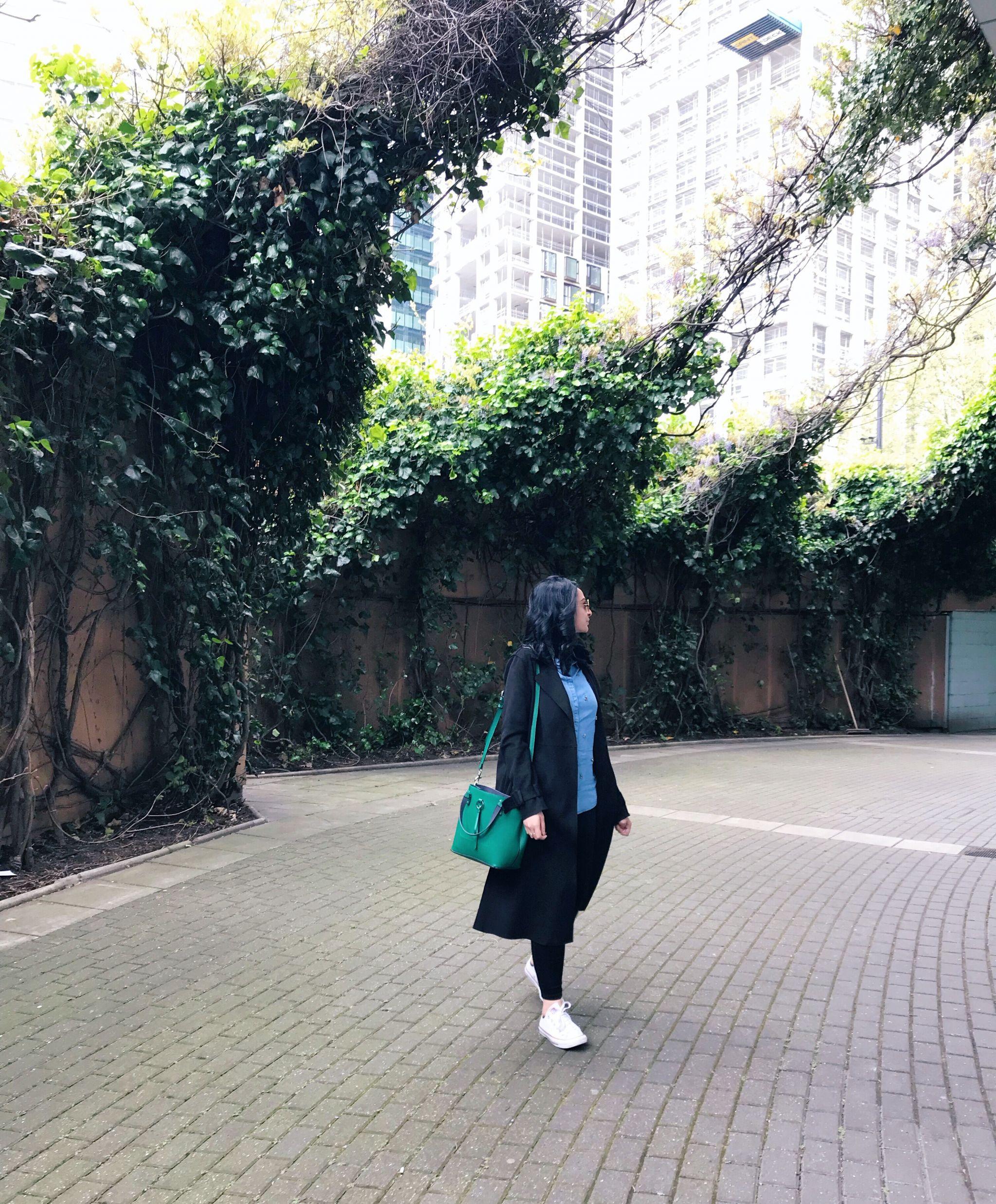 Zara Trench Coat ootd