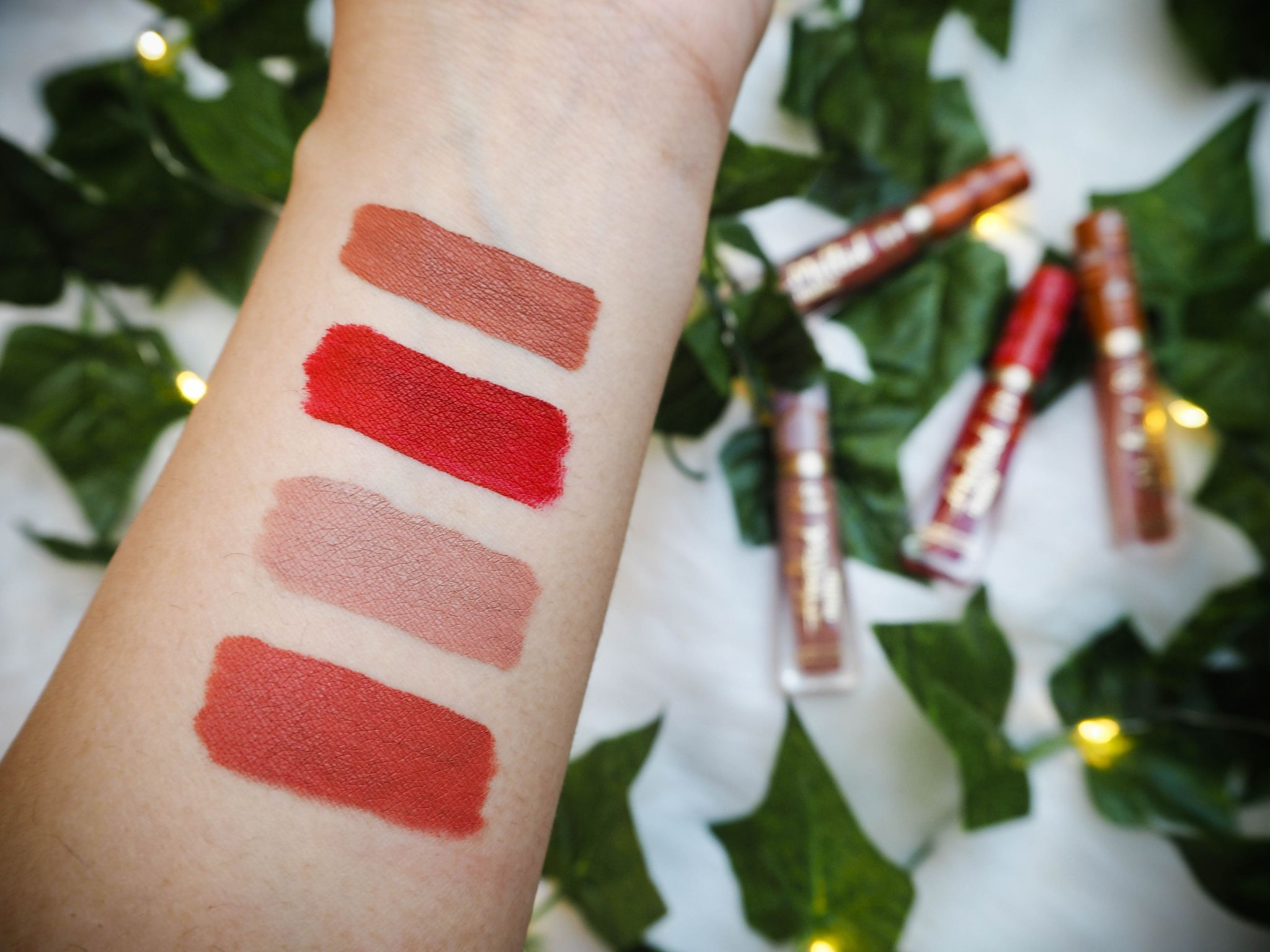 Too Faced The Sweet Smell Of Christmas Melted Matte Liquid Lipsticks