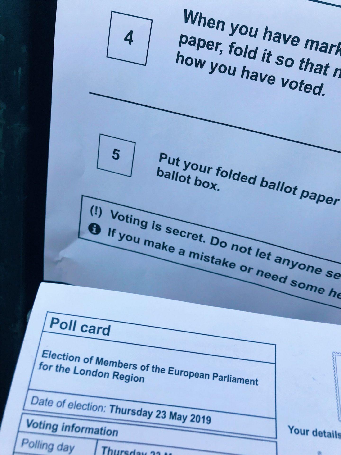 Polling is SECRET