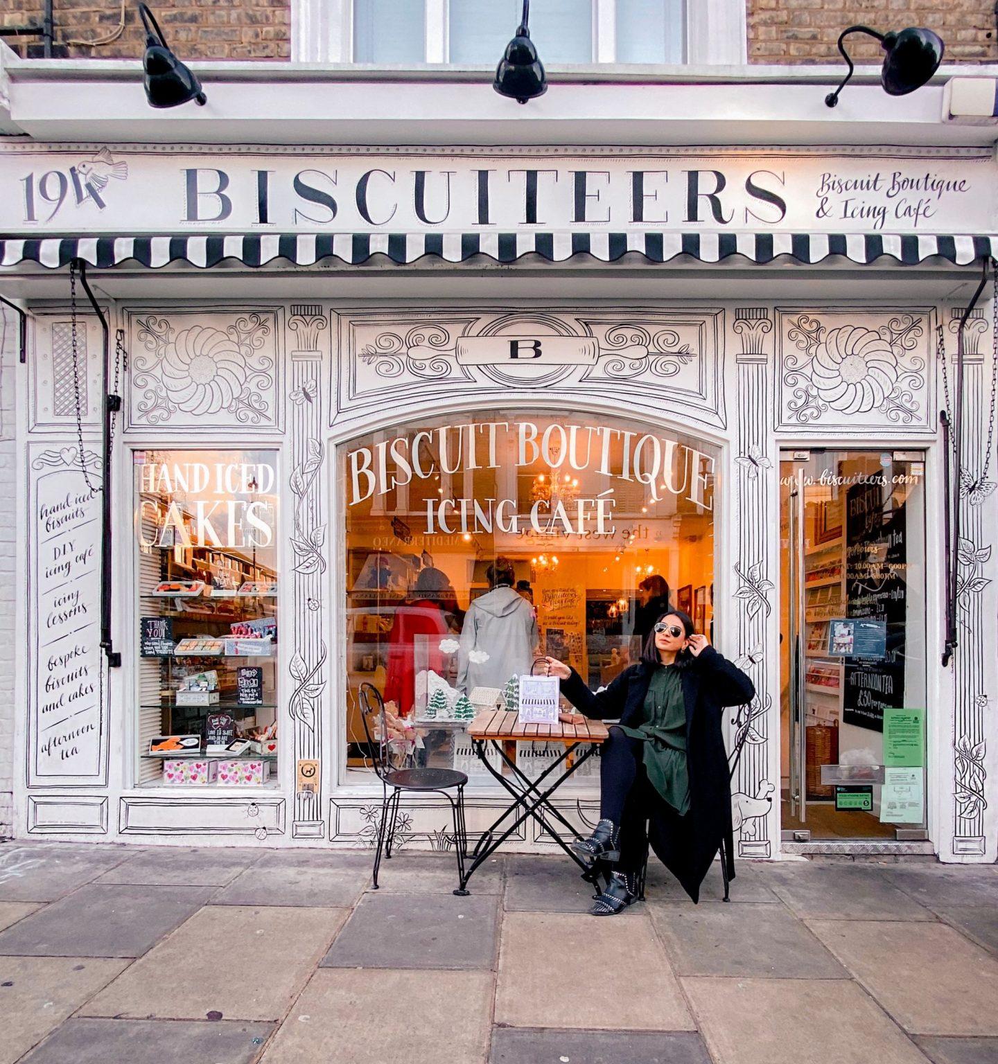 Biscuiteers Icing cafe review